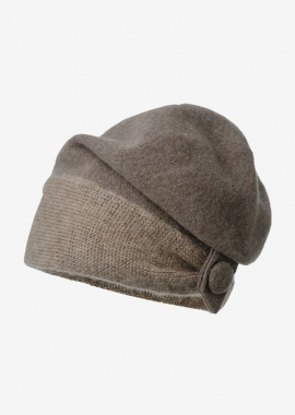 Basil - Bonnet taupe