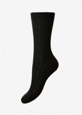 Chaussettes en cachemire noires