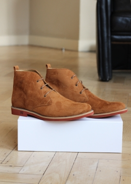 Les bottines Ayita camel
