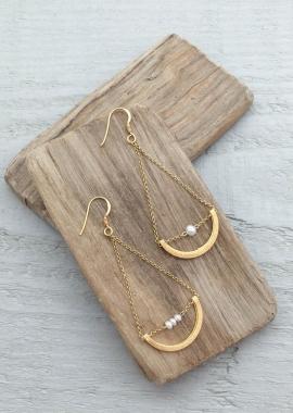Bouclesd'oreillesIris(perle)