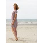 Robe Roselyne marinière en coton biologique
