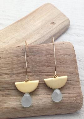 Leanor grey earrings