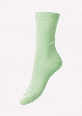 Femmes – Chaussettes en coton vertes