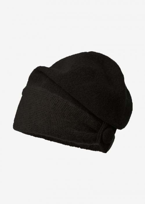 Basil - Bonnet noir