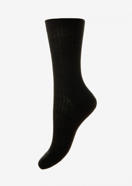 c154bf710 Womens Black Cashmere Socks Made In Uk Pantherella. Hogarth womens colour  block cashmere socks jean blue light grey ...