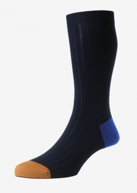 Navy Merino wool socks