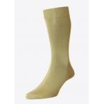 Light kaki cotton socks