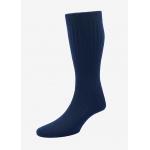 Hommes - Chaussettes en cachemire bleu navy