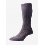 Men - Dark grey cashmere socks