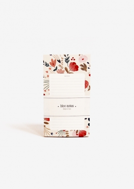 Flowers Folk Notepad