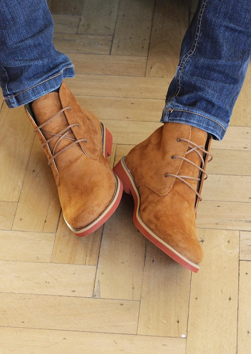 Les bottines Ayita camel