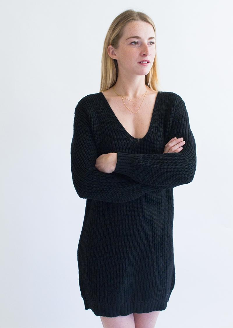 GIULIA V Neck dress