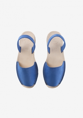 Blue Leather Alohas Sandals