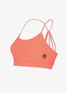 Multi strap Bra LEONORE - Peach