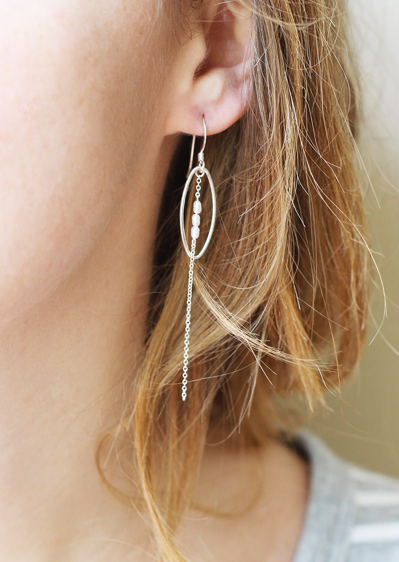 June earrings