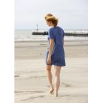 Roselyne denim linen dress