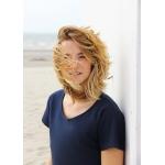 Robe Roselyne en coton biologique- bleu marine