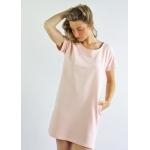 Roselyne organic cotton dress - light pink