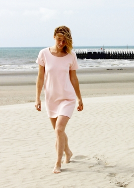 Roselyne organic cotton dress - light pink