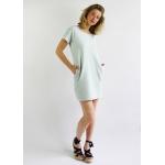 Robe Roselyne en coton biologique - vert d eau