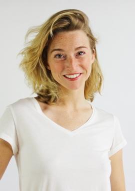 Modal T-shirt Annie- ecru