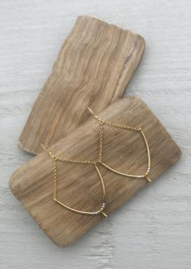 Gold plated Selahearrings