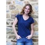 T-shirt Annie en modal marine