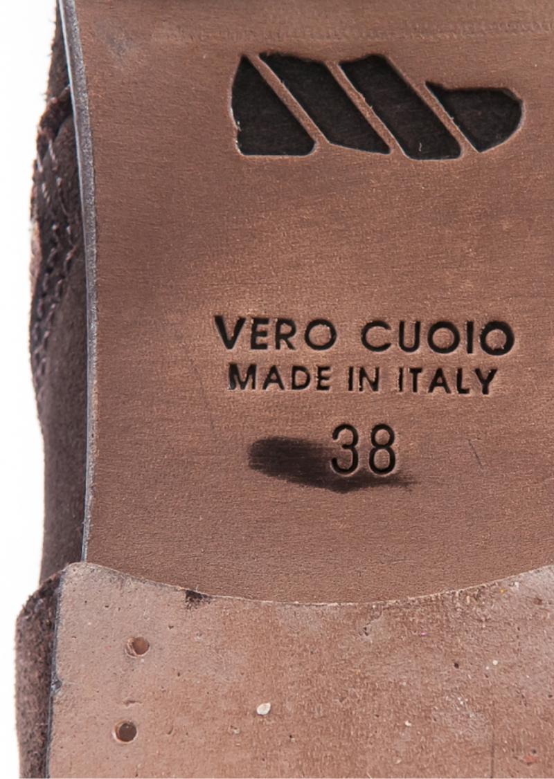 Bottines à fermeture oblique l Handmade in Italy