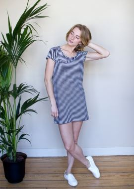 La robe Eve marinière