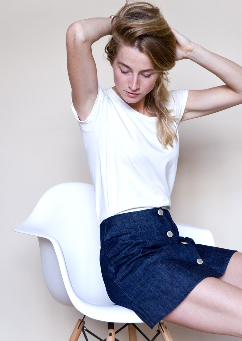 La jupe Agnes Denim