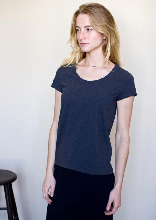 Le T-Shirt Cleo gris souris
