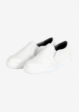 Vegan leather slip-on sneakers Malkia