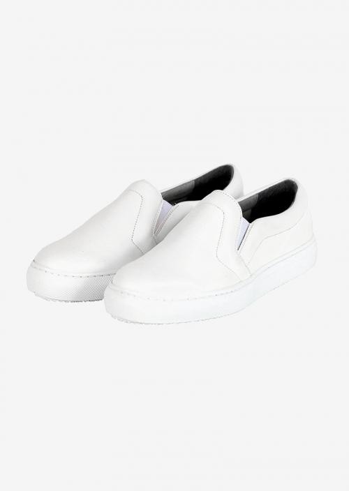 Vegan leather slip-on sneakers Malkia