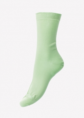 Women – Green sea Island cotton socks